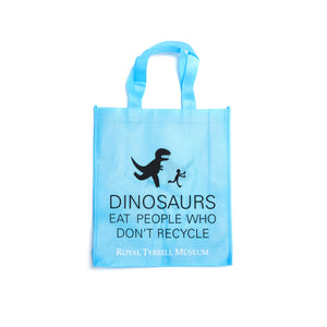 Dinosaurs Eat People Who Don't Recycle Tote Bag