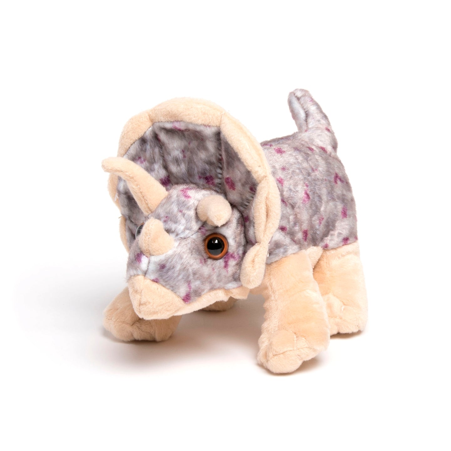 Cuddlekins Mini Triceratops Stuffed Animal