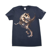 Load image into Gallery viewer, T. rex Skeleton Adult T-shirt