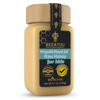 Bee & You Propolis + Royal Jelly + Raw Honey Mix for Kids  190gr