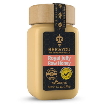 Bee & You Royal Jelly + Raw Honey Mix 190gr