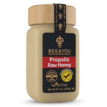 Bee & You Propolis + Raw Honey Mix 190gr