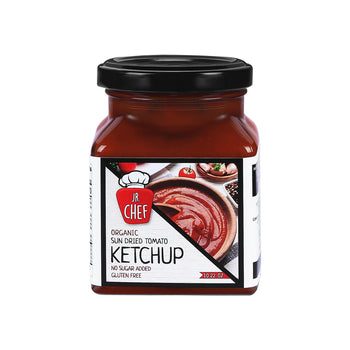 Jr Chef Sun Dried Tomato ketchup 290gr