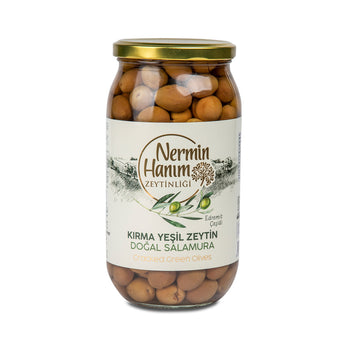 Nermin Hanim Cracked Green Olives 650gr
