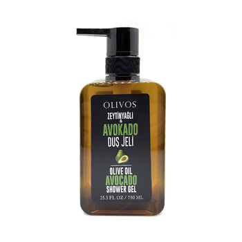Olivos Olive Oil Avocado Shower Gel 25.3 Oz