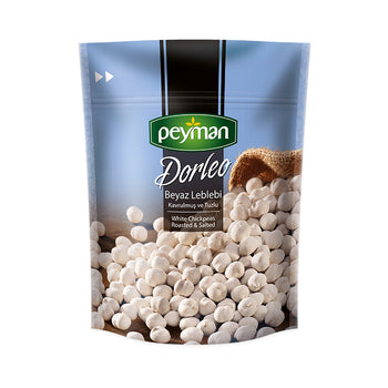Peyman Darleo White Chickpeas Roasted Salted 5.29 Oz