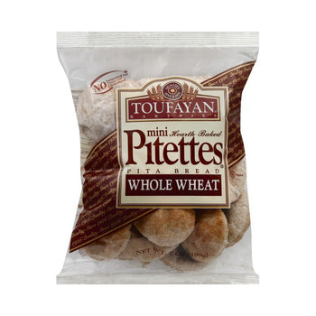 Toufayan Hearth Baked Pitettes 7 Oz
