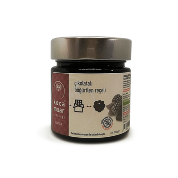 Kocamaar Blackberry With Chocolate Preserve 260gr