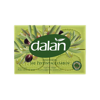 Dalan Olive Oil Soap Green 200gr - 4 Pack