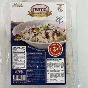 Nema Turkish Beef Dumpling(Etli Manti)12oz