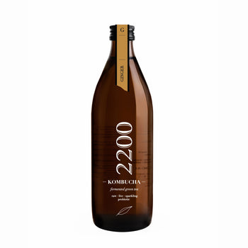 Kombucha 2200 Ginger Green Tea 500ml