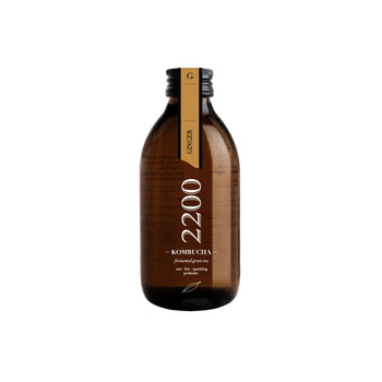 Kombucha 2200 Ginger Green Tea 250ml