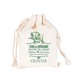 Olivos Chia & Avocado Olive Oil Soap 150gr