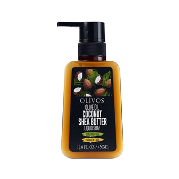 Olivos Coconut Shea Butter Liquid Soap 450gr