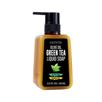Olivos Gren Tea Liquid Soap 450gr