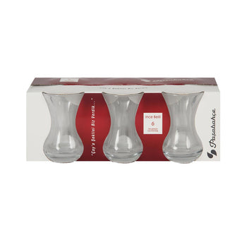 Pasabahce Tea Glasses (Ince Belli)