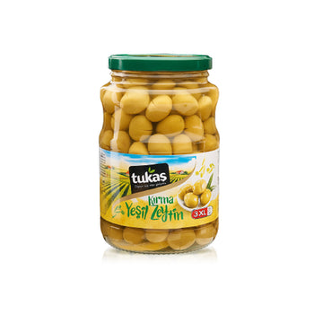 Tukas Green Cracked Olives 1000gr