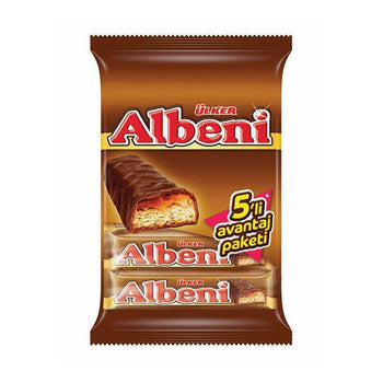 Ulker Albeni Chocolated Coated Bar 5pk 200gr