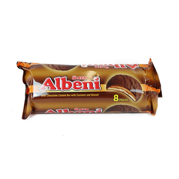 Ulker Albeni Ring Chocolate Coated Caramel Biscuits 344gr