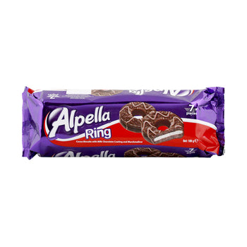 Ulker Alpella Ring Marshmallow Biscuits 189gr