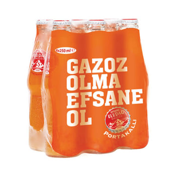 Uludag Orange Gazoz 6x250 Ml