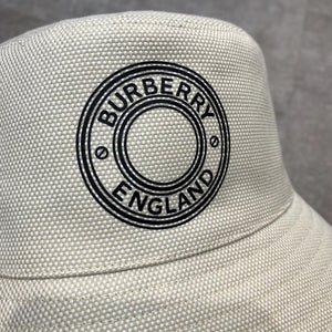 Burberry Logo Print Bucket Hat