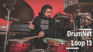 DrumNet Drum Samples : Loop 13 ( 90' R&B )