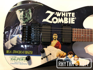 ESP LTD Kirk Hammett Signature White Zombie Electric Guitar Graphic