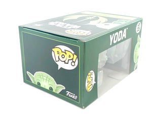"Funko Pop! Movies 124: Yoda (Green Ver.) ""Star Wars"""