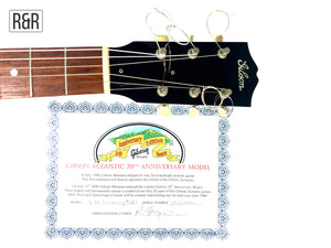Gibson 2010 L-00 20th Anniversary Ebony Acoustic Guitar USA
