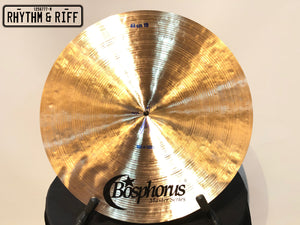 "Bosphorus Cymbals Master Series 19"" Crash"