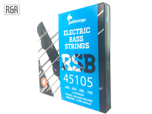 GalliStrings Electric Bass Nickel Round Wound RSB45105