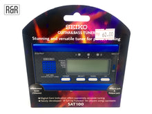 Load image into Gallery viewer, Seiko SAT100 Guitar & Bass Tuner