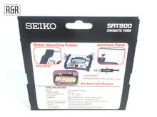 Load image into Gallery viewer, Seiko SAT800 Durable Design Chromatic Tuner