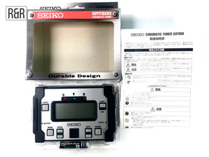 Seiko SAT800 Durable Design Chromatic Tuner