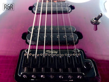 Load image into Gallery viewer, Sterling by Music Man JP70 7-String Electric Guitar w/Bag, Trans Purple Burst