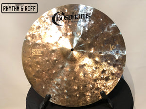 "Bosphorus Cymbal Syncopation SW 19"" Crash"