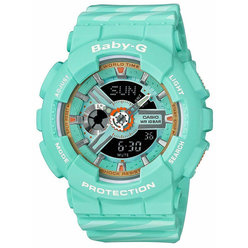 Casio Baby-G BA-110CH-3A World Time Women's Watch Punto IT Design