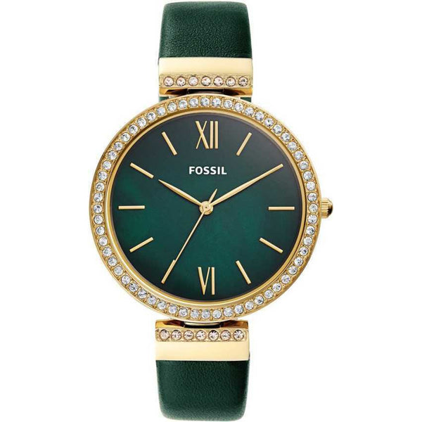 Fossil Women's Madeline Three-Hand Gold-Tone Stainless Steel Watch ES4642