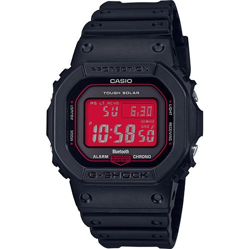 BRAND NEW CASIO G-SHOCK GWB5600AR-1D TOUGH SOLAR RED DIAL DIGITAL MENS WATCH NWT