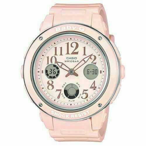 Casio Analog-Digital Casual Baby-G Pink Ladies BGA-150EF-4B Watch