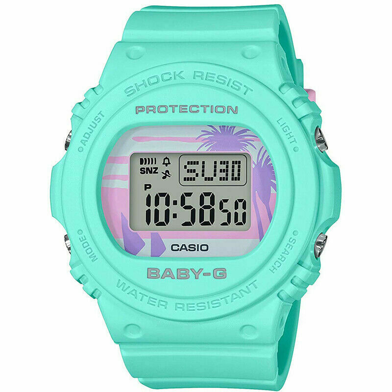 CASIO BABY-G BGD-570BC-3D 80's Beach Colors Limited Series Digital Women Watch