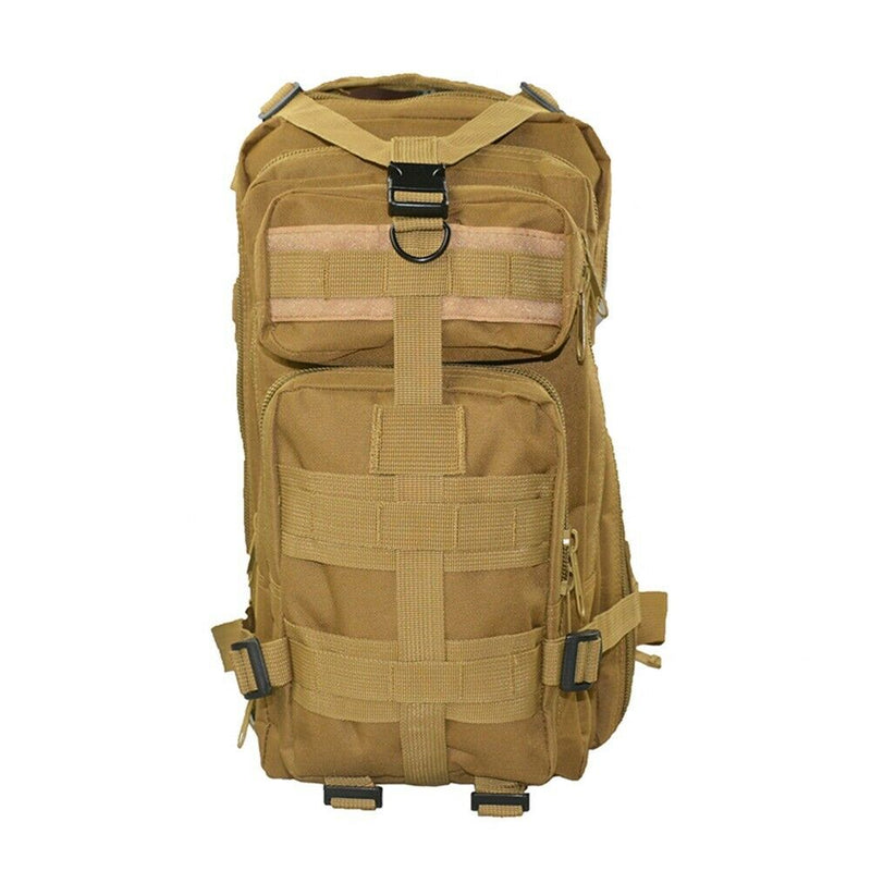 TAN TACTICAL BACKPACK 25L