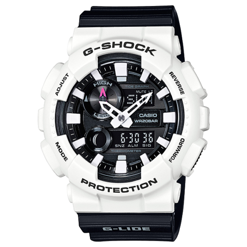Casio G-Shock G-Lide Black Resin Band Watch GAX100B-7A GAX-100B-7A