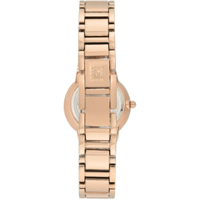 Anne Klein Women's Glitter Accented  Bracelet Watch, Rose Gold 3604-MPRG