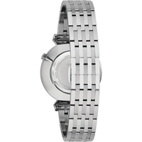 Bulova Classic Regatta White Dial Stainless Steel Men's Watch 96A232