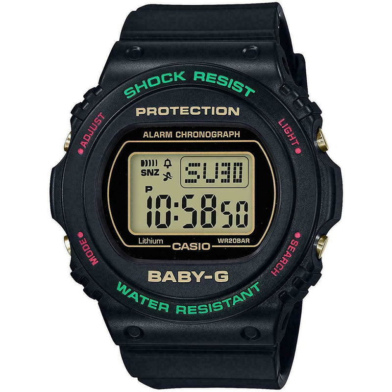 CASIO BABY-G BGD-570TH-1DR Throwback 1990s Women's Watch 2019 New in Box