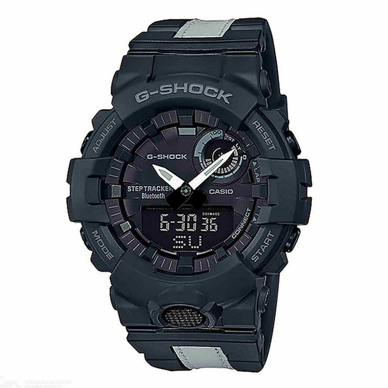 Casio G-SHOCK Mens Analog-Digital Sport White Band GBA-800LU-1A