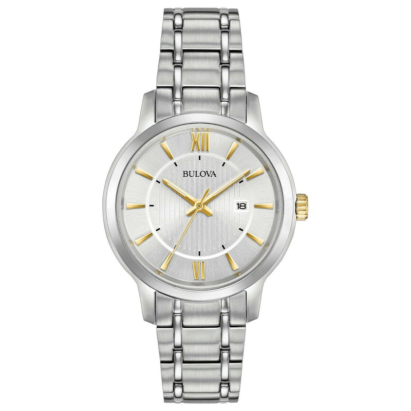 Bulova Women's 98M129 Japanese-Quartz Silver Watch