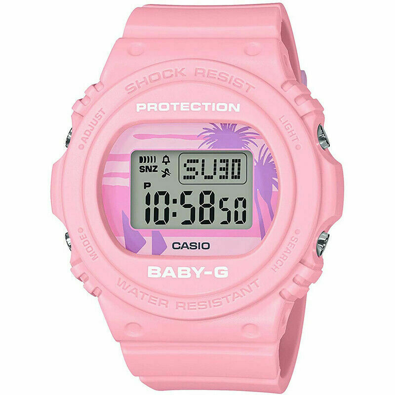 CASIO BABY-G BGD-570BC-4D 80's Beach Colors Limited Series Digital Women Watch
